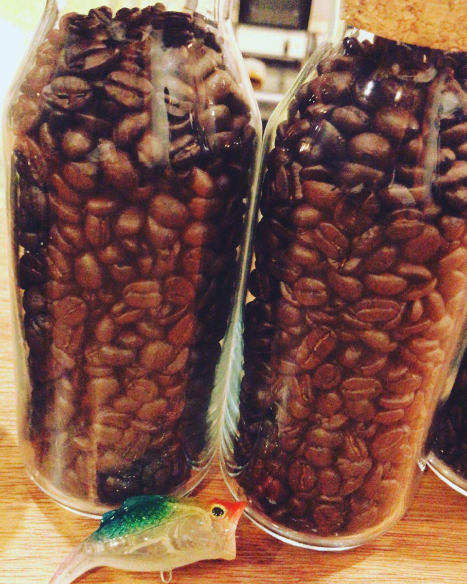 日替わり当日焙煎コーヒーを提供
