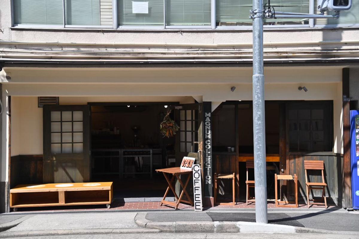 上本町にあるオーガニックコーヒー ビーンズショップです